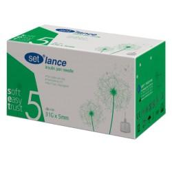 Igły do penów insulinowych SET Lance 31G 0,25 x 5mm 100 sztuk