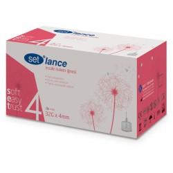 Igły do penów insulinowych SET Lance 32G 0,23 x 4mm 100 sztuk